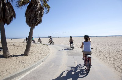 26-Mile Bike Path in Los Angeles