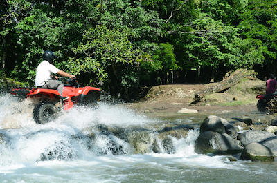 4WD and ATV tours in Arenal