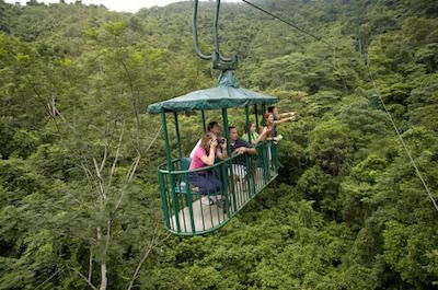 Aerial Tram and Zipline Tour from Jaco in Jaco