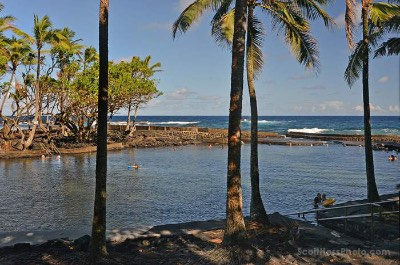 Ahalanui County Beach Park