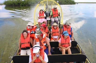 things to do in Freeport Bahamas - Airboat Tours