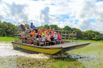 things to do in orlando besides theme parks - Airboat Tours