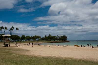 Ala Moana Beach Park in Oahu