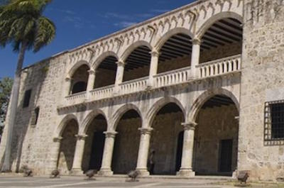 Alcázar de Colón (Columbus Palace) in Santo Domingo