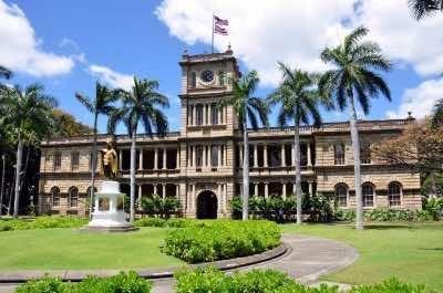 Ali'iolani Hale in Honolulu