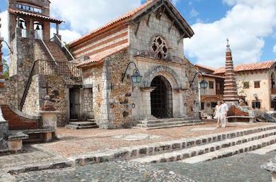Altos de Chavon village  in La Romana