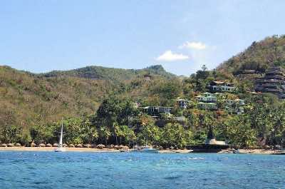 Anse Chastanet Beach and Reef in St. Lucia