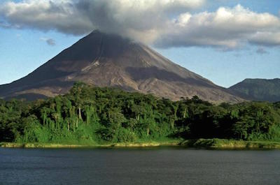 Arenal Volcano and Hot Springs in Jaco
