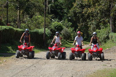 ATV tours in Manuel Antonio