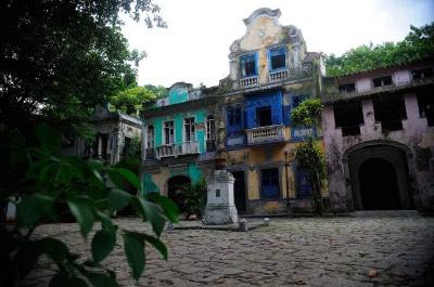 Bairro Cosme Velho in Rio de Janeiro
