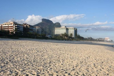 Barra Beach in Rio de Janeiro