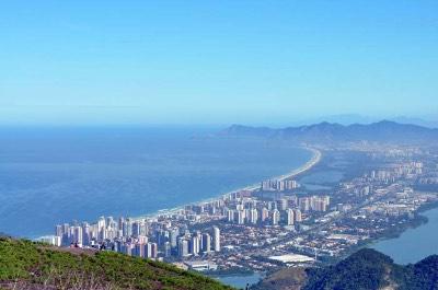 Barra da Tijuca in Rio de Janeiro