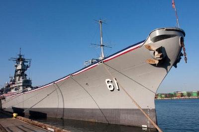 Battleship USS Iowa Museum in Los Angeles