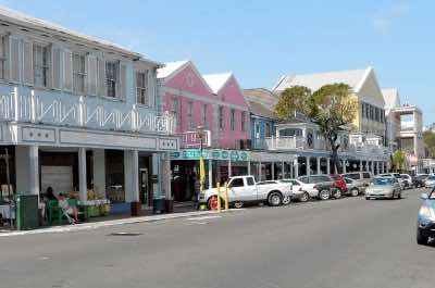 Bay Street in Nassau