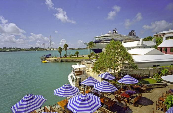 Beach resort in St. Georges Bermuda
