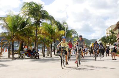 Bike tours in St. Maarten