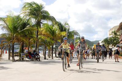 Bike tours in St. Maarten
