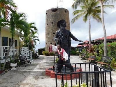 St. Thomas Blackbeard's Castle (Skytsborg Tower)