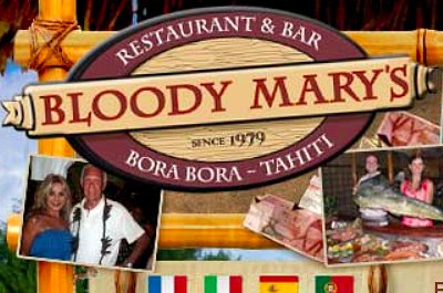 Bloody Mary's Restaurant in Bora Bora in Bora Bora