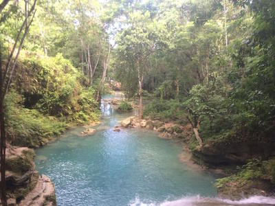 Blue Hole, a.k.a. Island Gully Falls or Secret Falls - Ocho Rios, Jamaica
