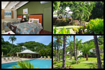 best Grenada resorts - Blue Horizons Garden