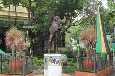 Bob Marley Museum in Kingston, Jamaica