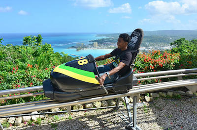 Bobsledding in Montego Bay