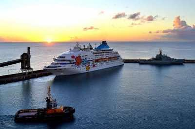 Bridgetown Cruise Port in Barbados