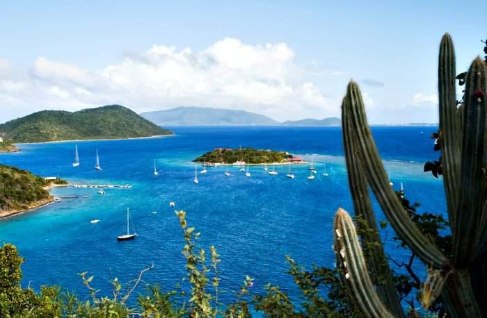 British Virgin Islands Coast