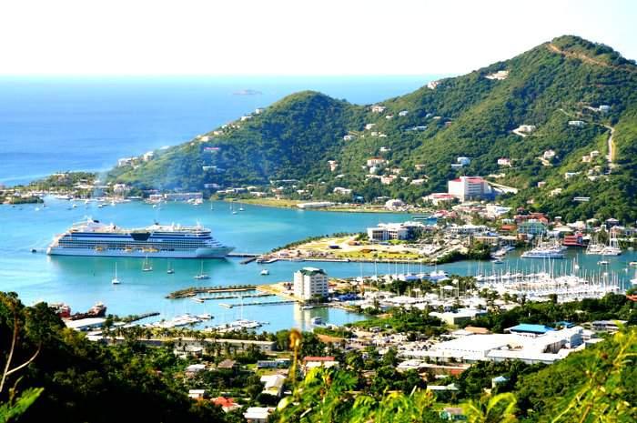 Tortola in Britsh Virgin Islands