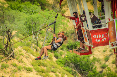Bungee Jumping and Canopy adventures in Cabo San Lucas
