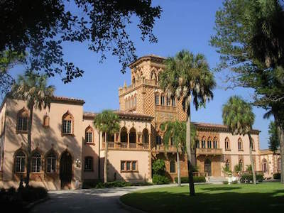Ca d'Zan Mansion in Sarasota