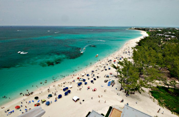 Cabbage Beach in Nassau