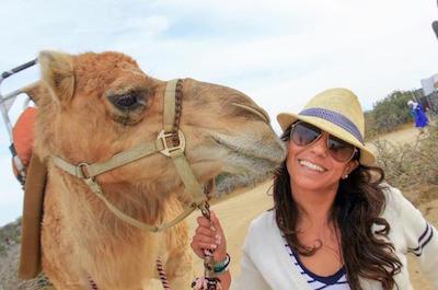 Camel rides in Cabo San Lucas