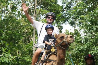 Camel riding in Ocho Rios