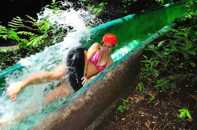 Canopy, Water Slide, Hot Spring Mud Bath and Horseback Riding Full Day Tour from Playa Hermosa - Coco Beach in Guanacaste