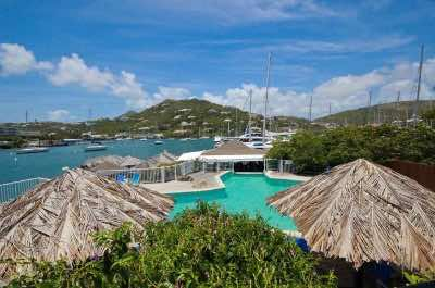 Captain Oliver's Resort & Marina in St. Martin