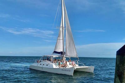 Catamaran Sailing in Panama City