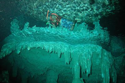 Cenote Chaak Tun in Playa Del Carmen