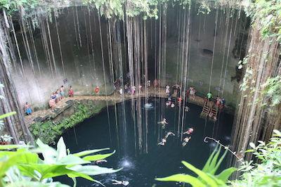 Cenote Ik Kil in Playa Del Carmen