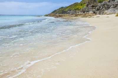 Church Bay Beach in Bermuda
