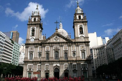 Church of Our Lady of Candelaria in Rio de Janeiro