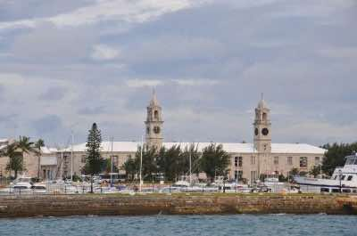 Clocktower Mall in Bermuda