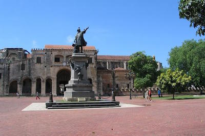 Columbus Park in Santo Domingo