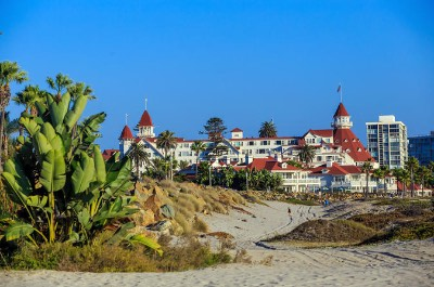 Coronado Island in San Diego