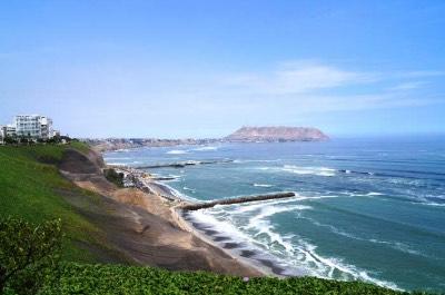 Costa Verde in Peru