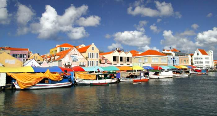 Curacao Floating market