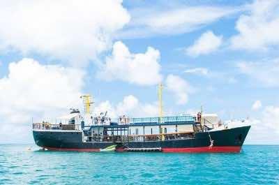 D Boat in Antigua