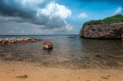 Daaibooi Beach in Curacao