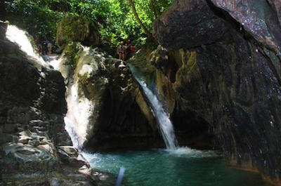 Damajagua Waterfalls day trips from Puerto Plata